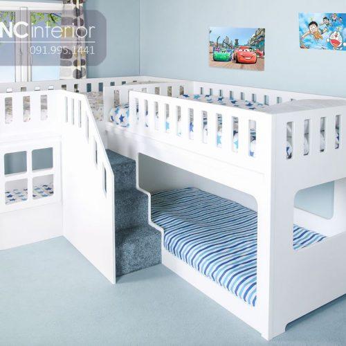 Giường tầng trẻ em CNC 03