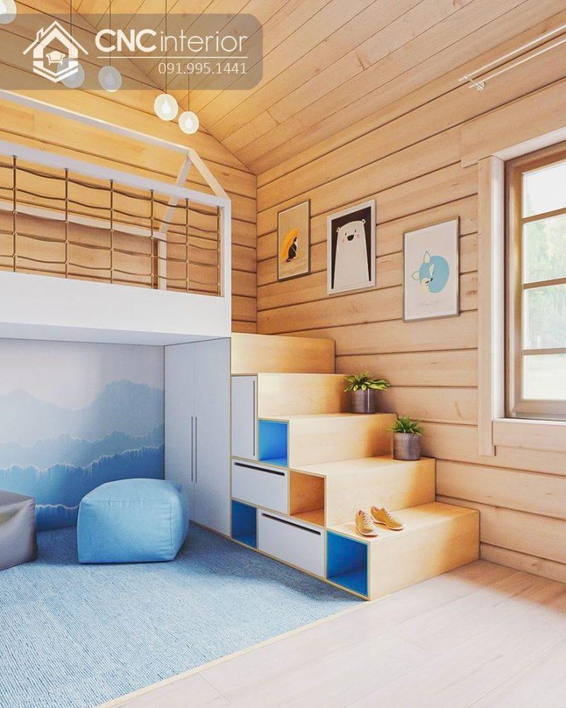 Giường tầng trẻ em CNC 04