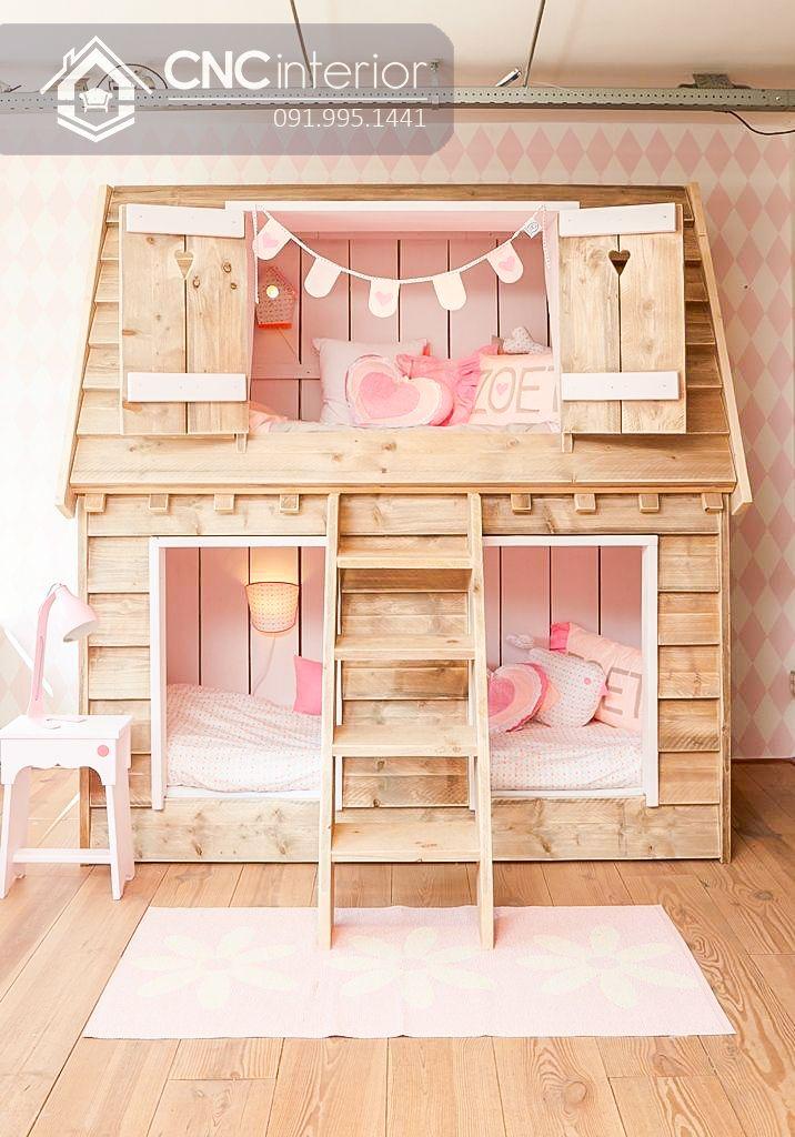 Giường tầng trẻ em CNC 08