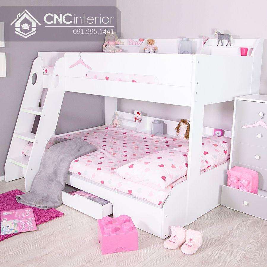 Giường tầng trẻ em cao cấp và hiện đại CNC 11 1