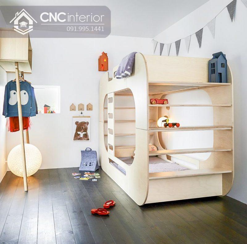 Giường tầng trẻ em CNC 15