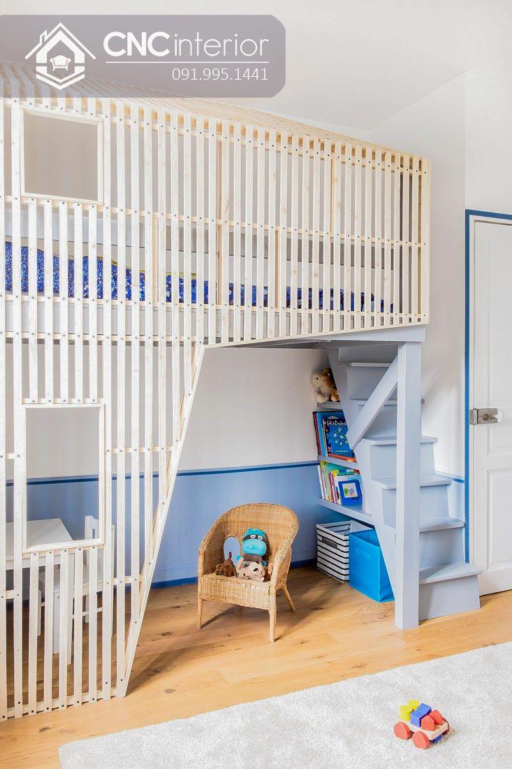 Giường tầng trẻ em CNC 17