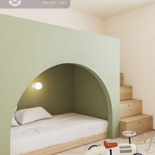 Giường tầng trẻ em CNC 18