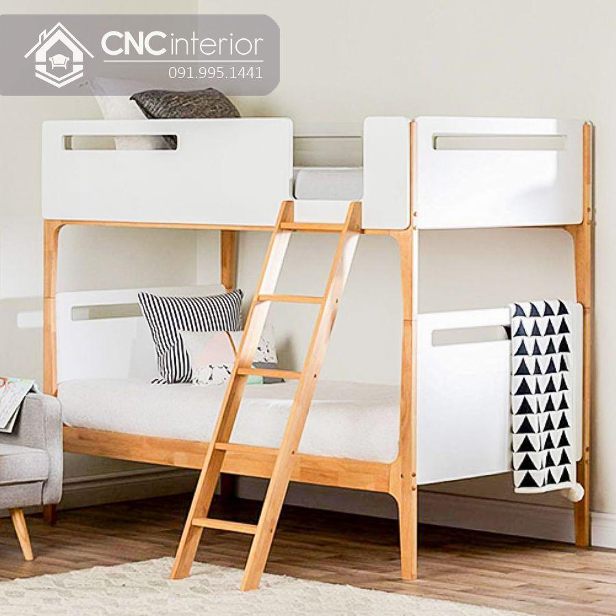 Giường tầng cho bé kiểu đơn giản CNC 20