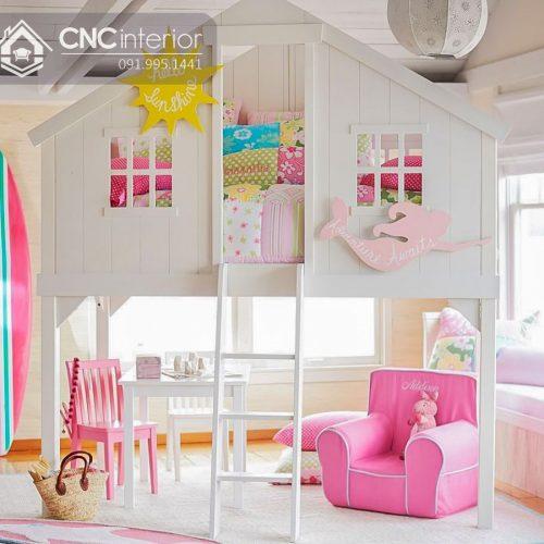 Giường tầng trẻ em CNC 24