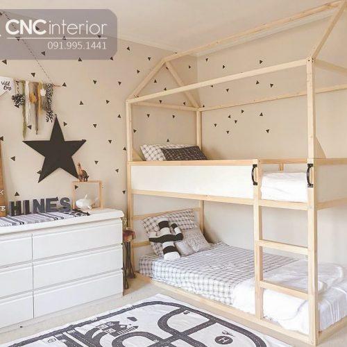 Giường tầng trẻ em CNC 25