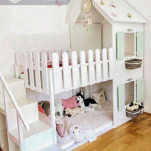 Giường tầng trẻ em CNC 27