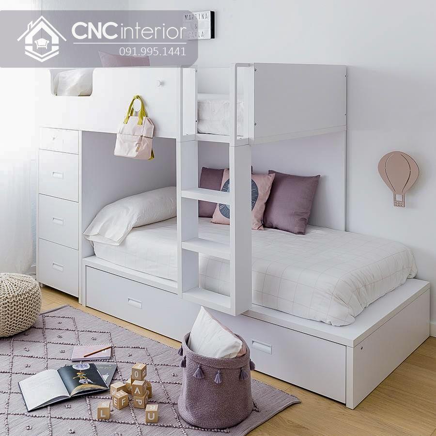 Giường 2 tầng đa năng cho bé CNC 30