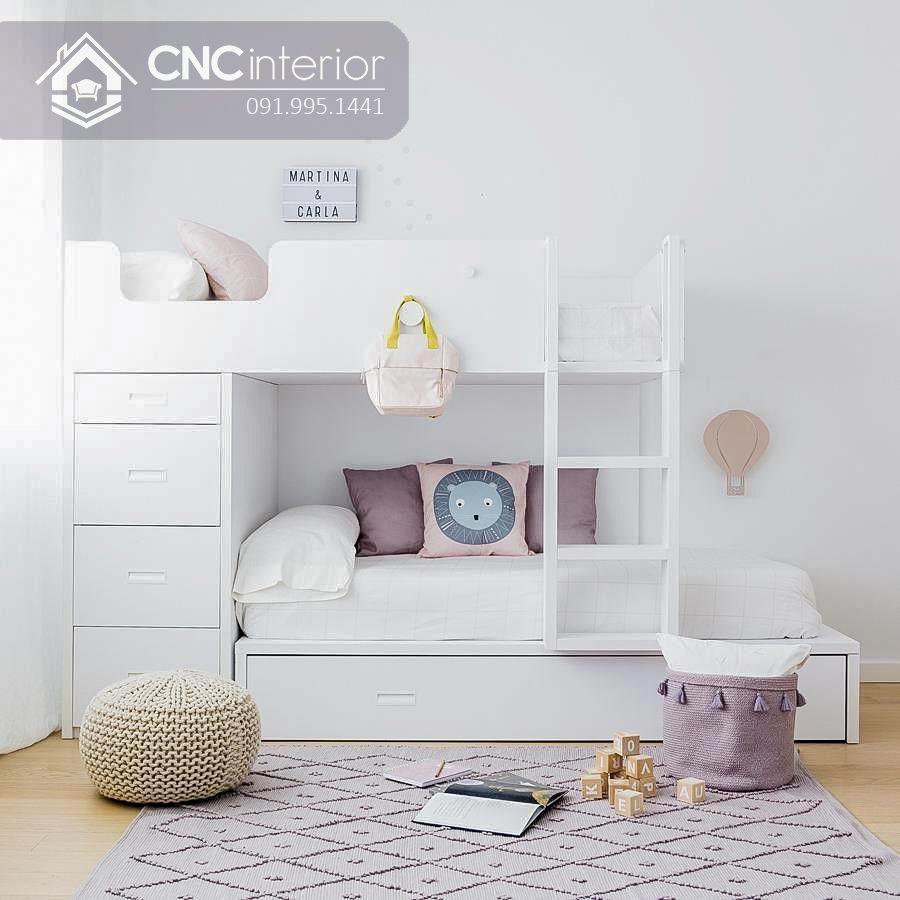 Giường 2 tầng đa năng cho bé CNC 30 1