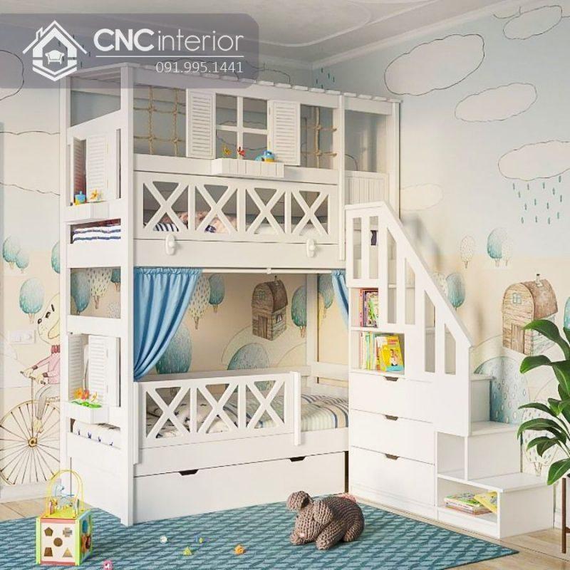 Giường tầng trẻ em CNC 32