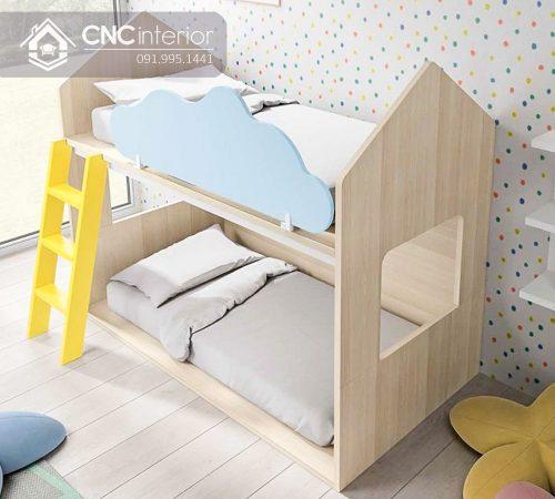 Giường tầng trẻ em CNC 33