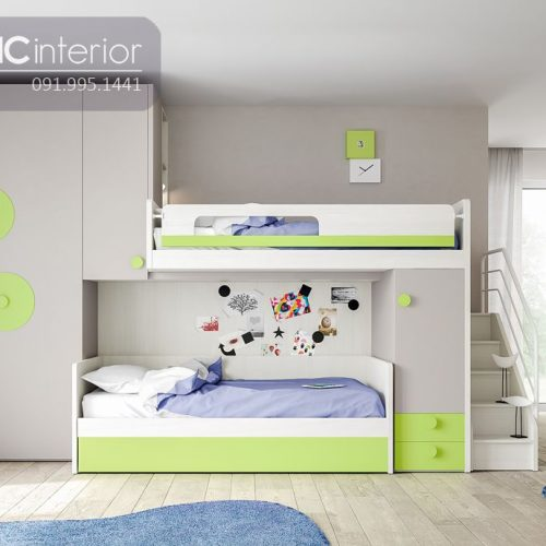 Giường tầng trẻ em CNC 34