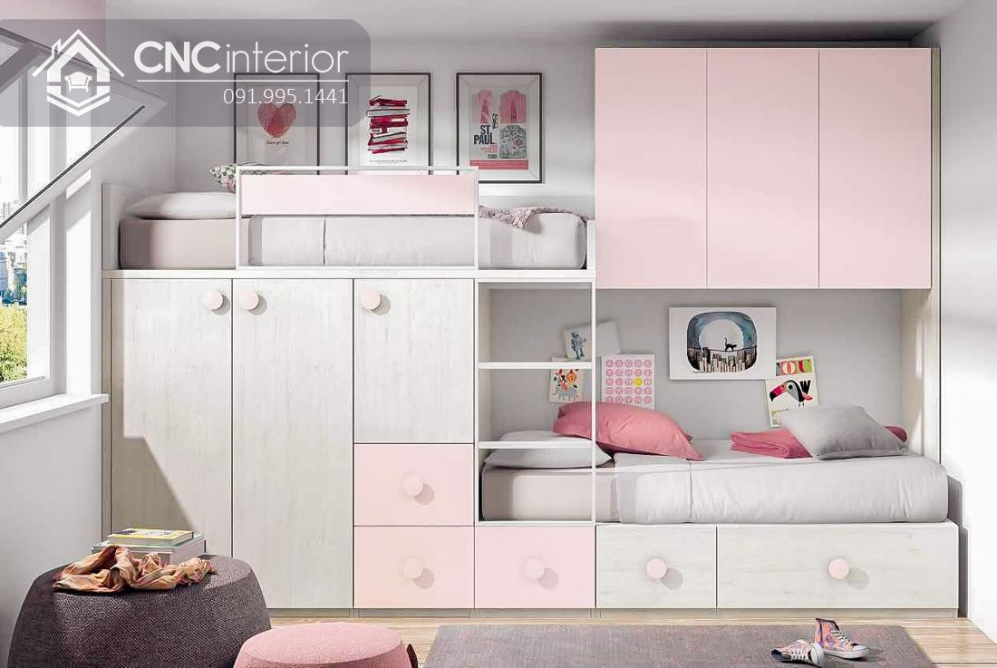 Giường tầng trẻ em CNC 40