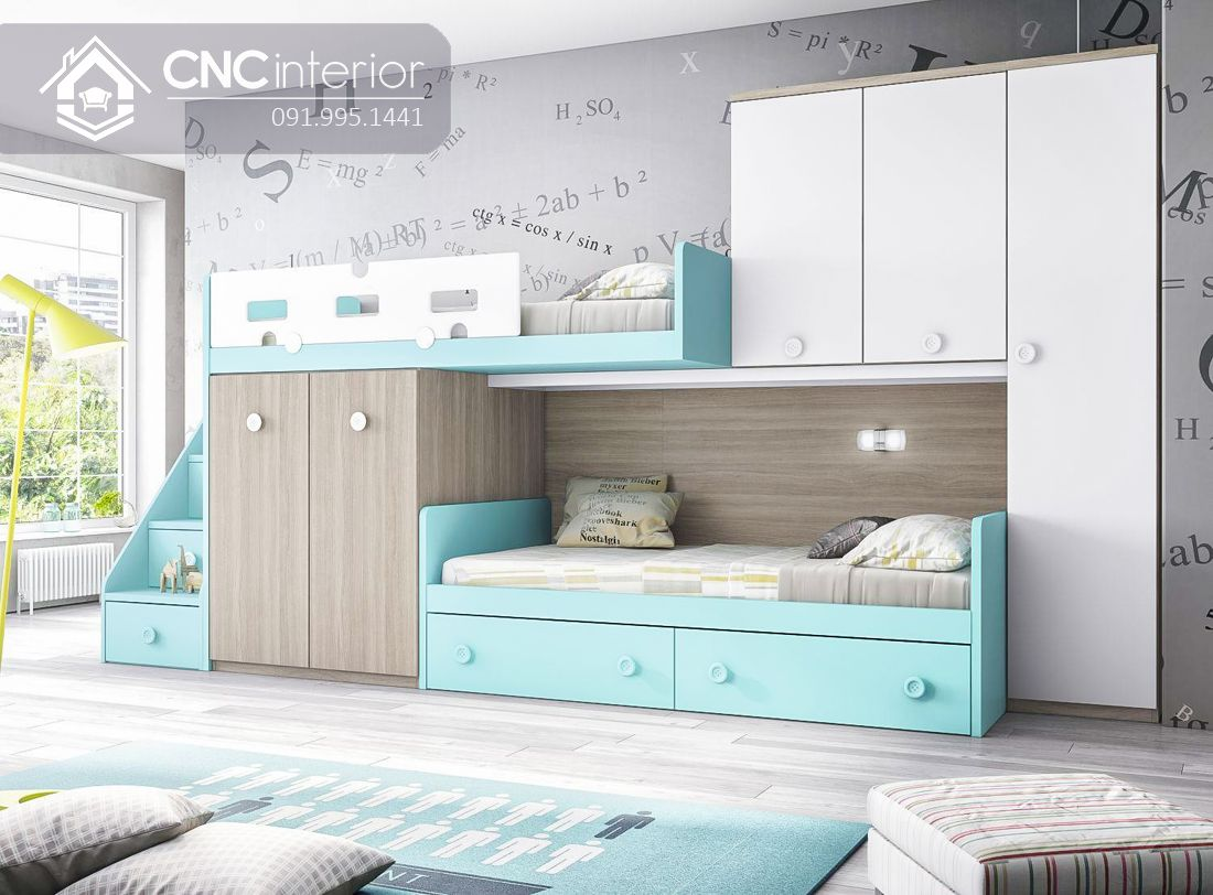 10 mẫu giường tầng hiện đại (1)