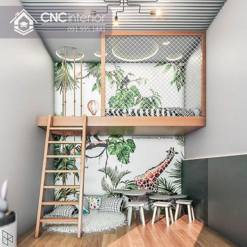 Giường tầng trẻ em CNC 41