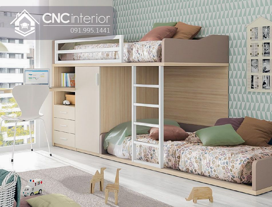 Giường tầng trẻ em CNC 42