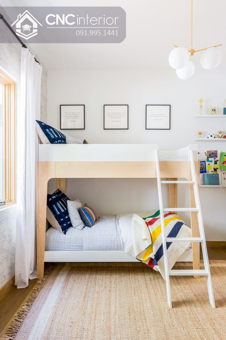 Giường tầng trẻ em CNC 43
