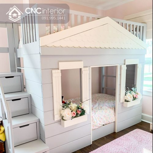 Giường tầng trẻ em CNC 44