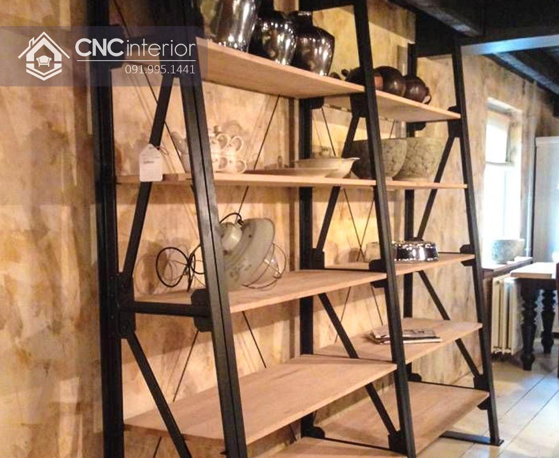 Kệ trưng bày đồ cổ CNC 03
