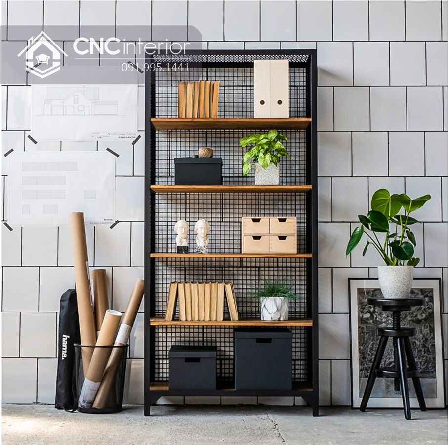 Kệ trưng bày sản phẩm cnc 07