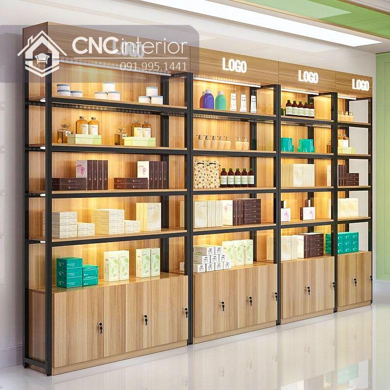 Kệ trưng bày sản phẩm cnc 24