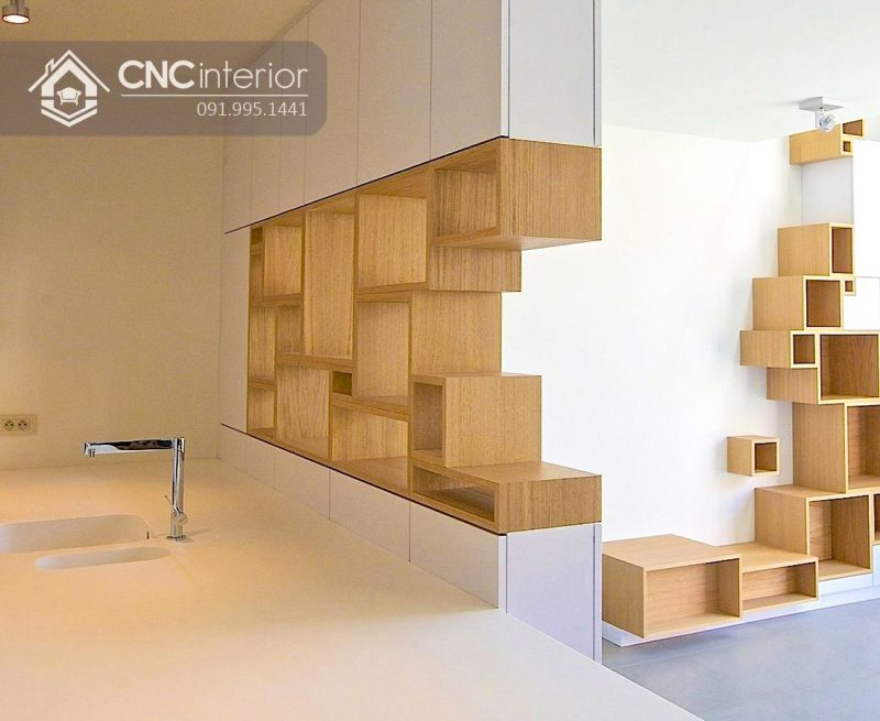 Kệ trưng bày sản phẩm cnc 11