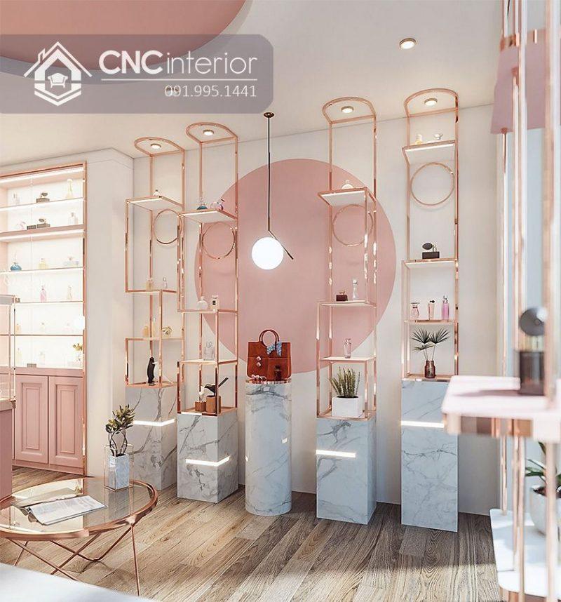 Kệ trưng bày sản phẩm cnc 32