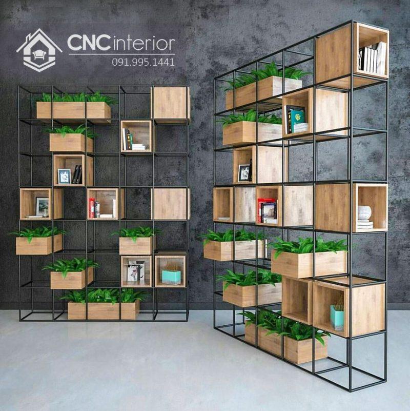 Kệ trưng bày sản phẩm cnc 45