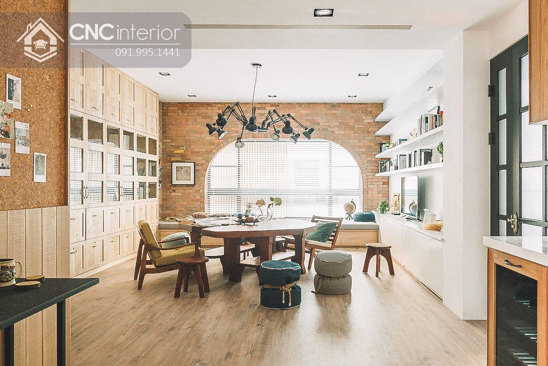 mẫu thiết kế nội thất phòng khách đẹp 14