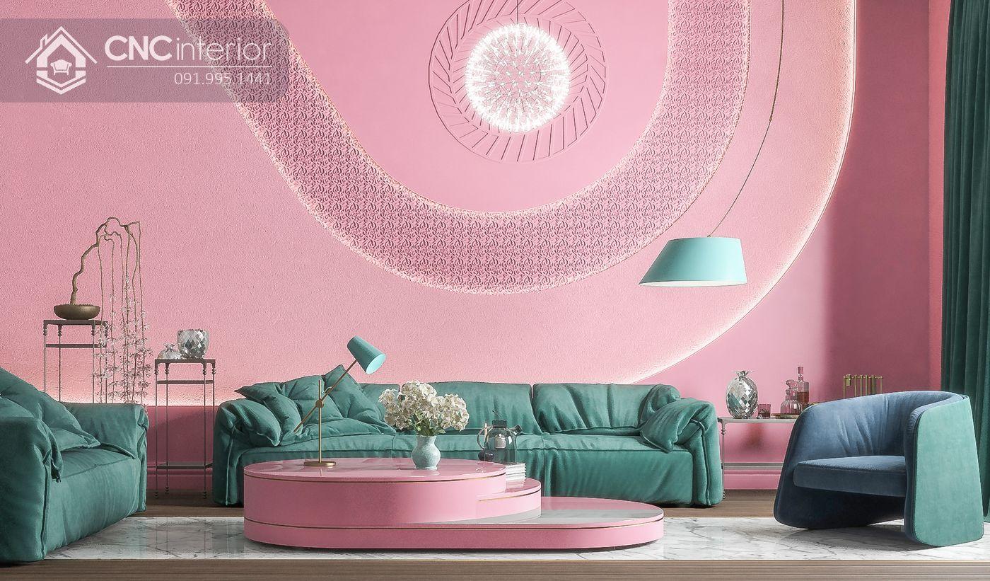 mẫu thiết kế nội thất phòng khách đẹp 1