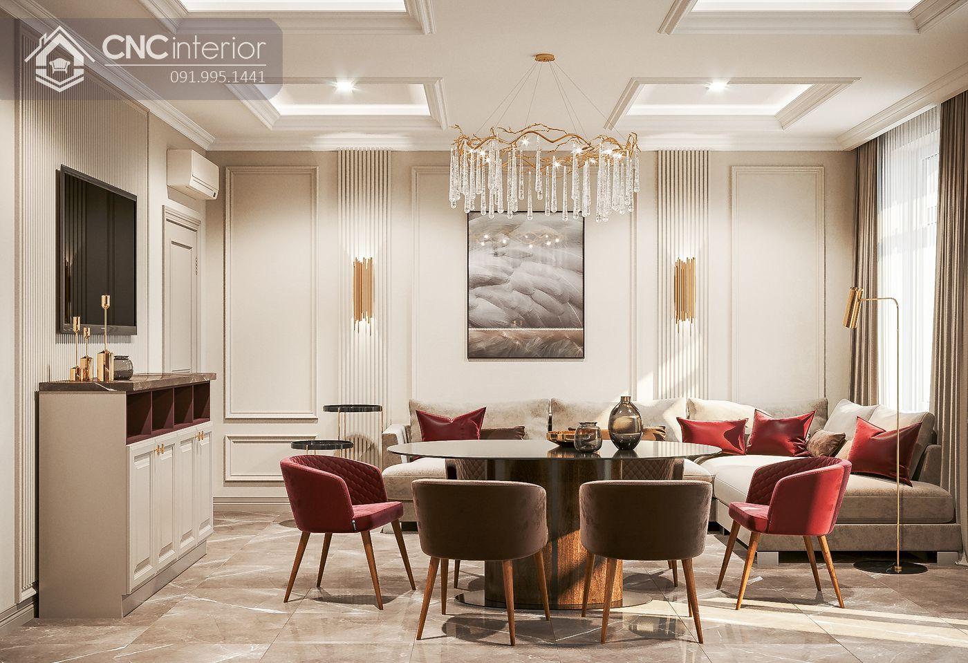 living room kiểu Neo Classic 29