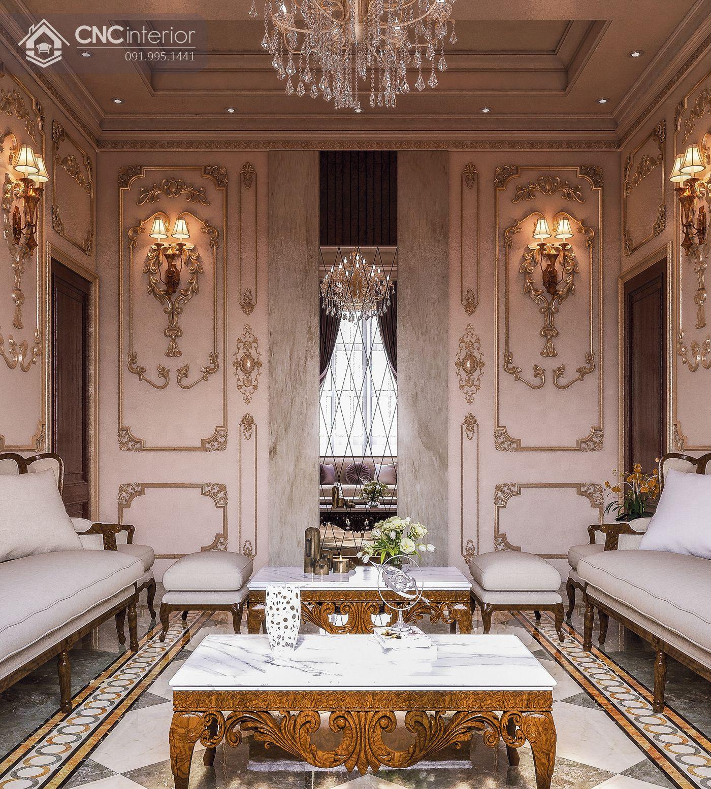 living room phong cách Classic 28