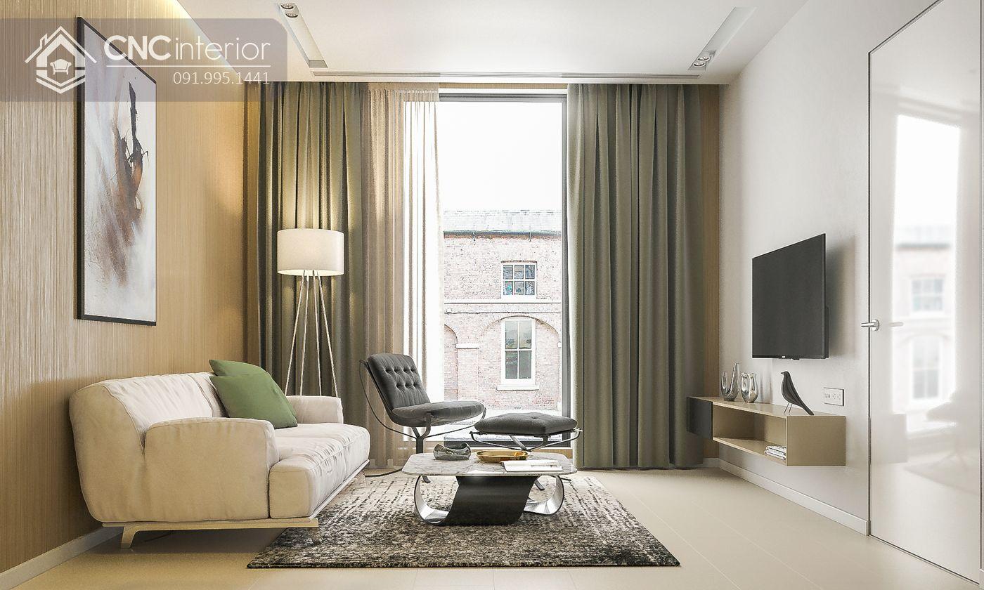 mẫu thiết kế nội thất phòng khách đẹp 31