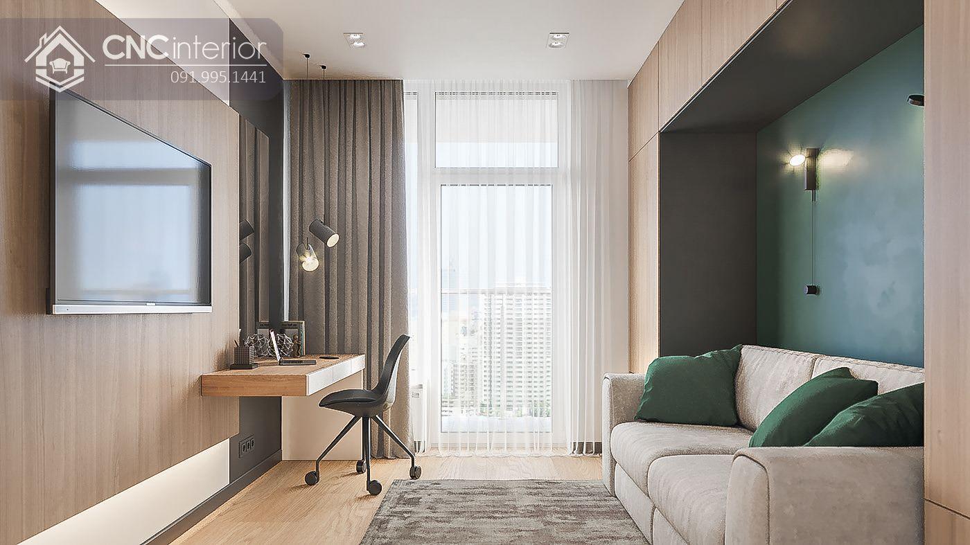 mẫu thiết kế nội thất phòng khách đẹp 13