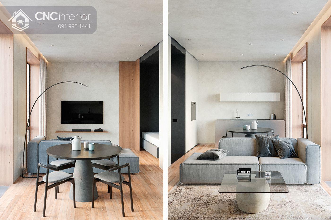 mẫu thiết kế nội thất phòng khách đẹp 32