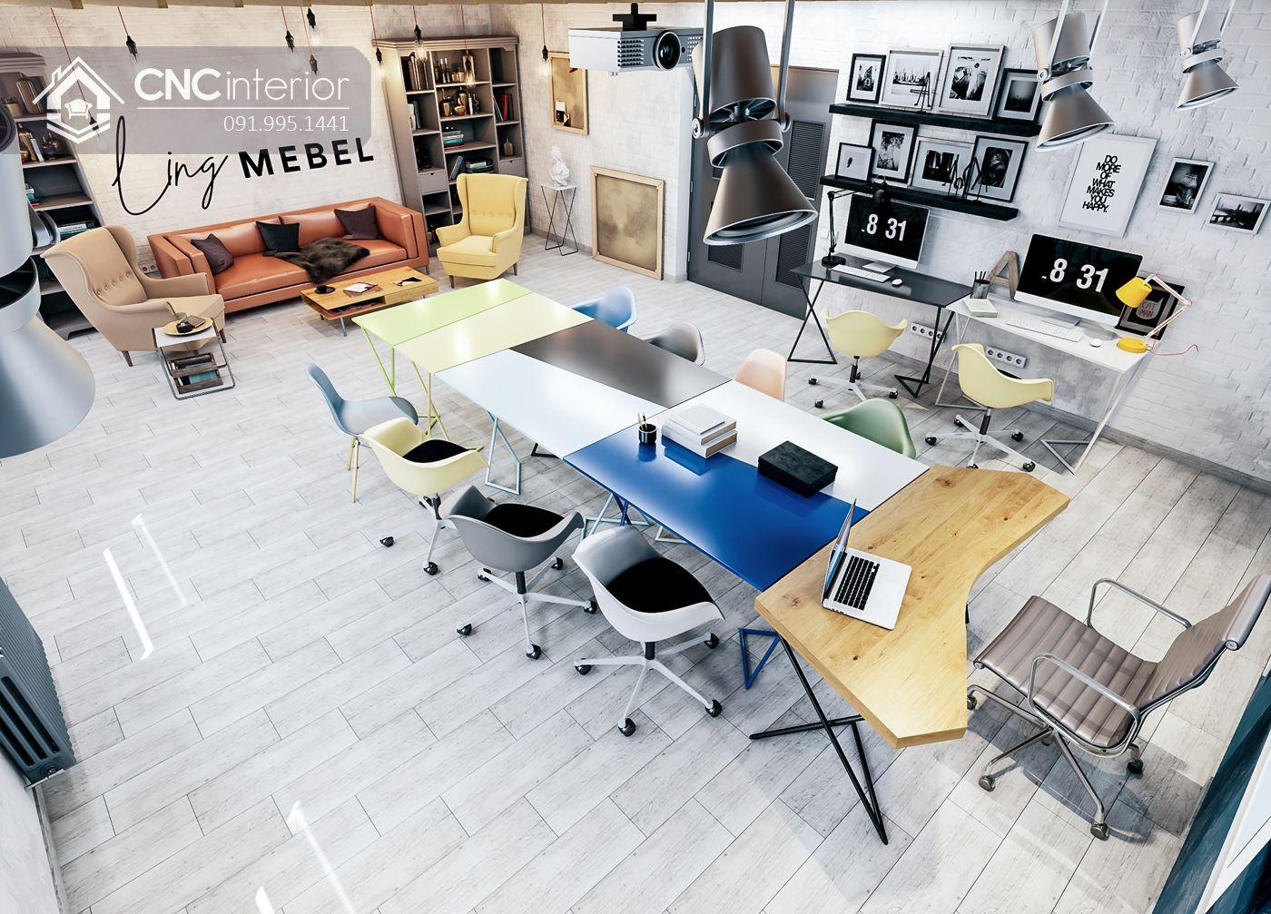 nội thất CNC - Văn phòng Studio Ling Mebel