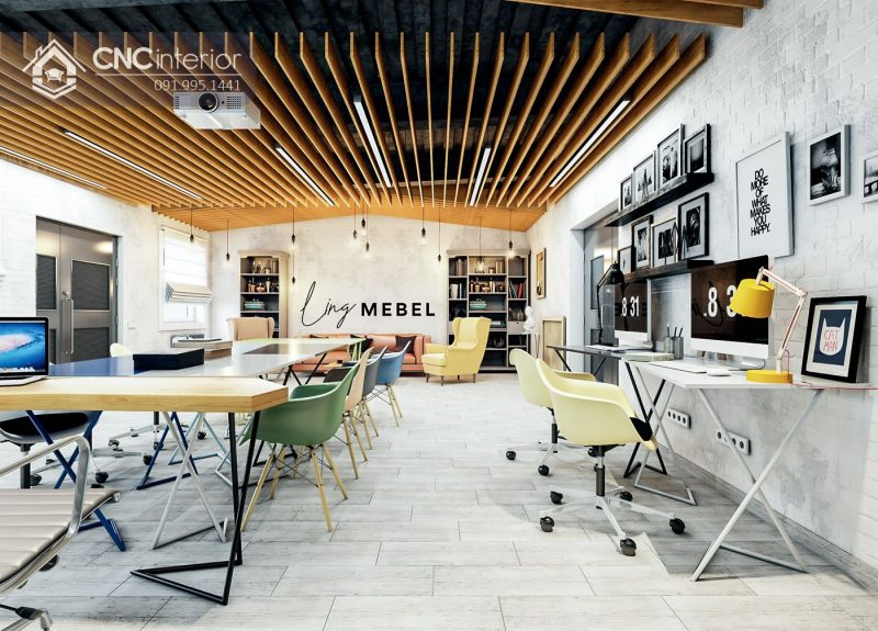 nội thất CNC Văn phòng Studio Ling Mebel 3
