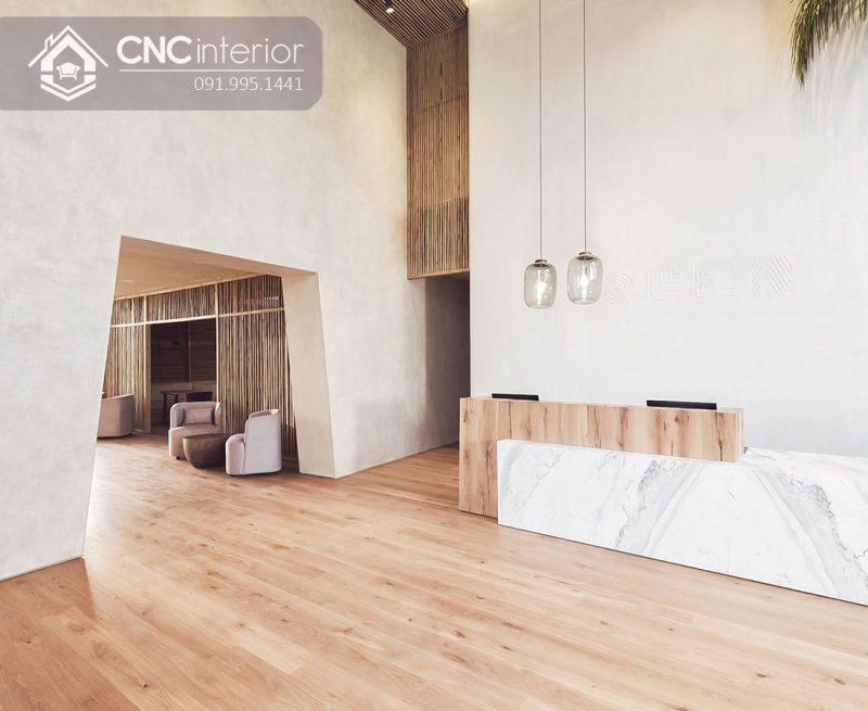 Quầy lễ tân CNC 16