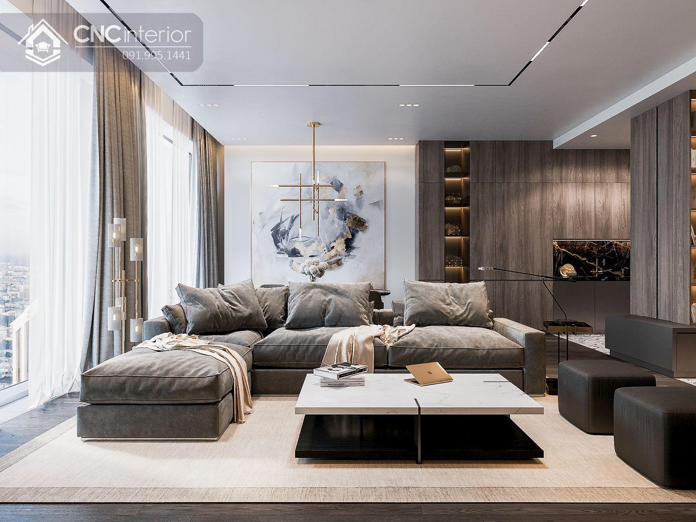 thiết kế nội thất căn hộ chung cư đẹp 8