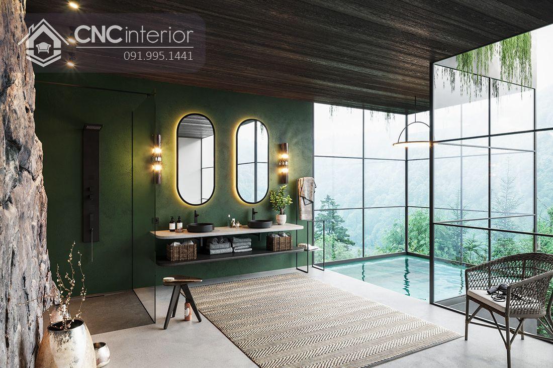 """Phòng tắm – mẫu thiết kế hotel """"xanh"""" (18)"""
