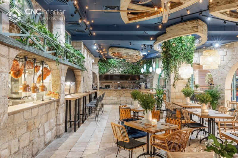 khu vực bếp restaurant 15