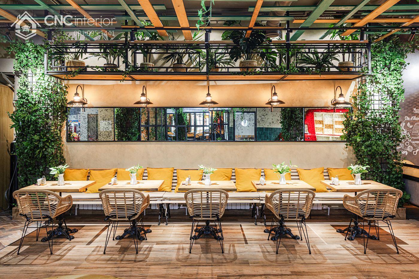 các mẫu thiết kế nội thất nhà hàng đẹp 8