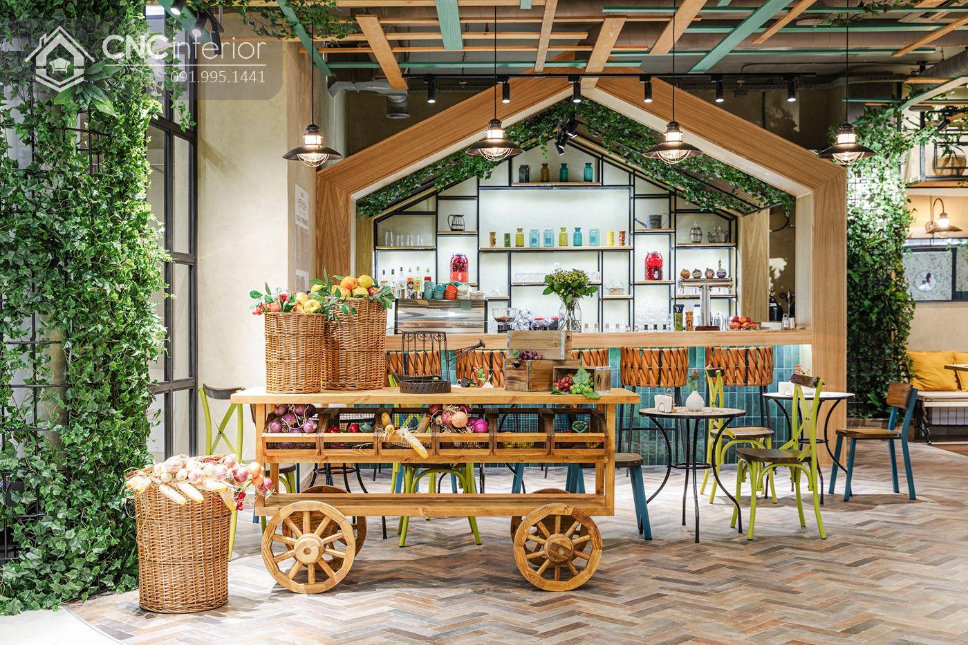 các mẫu thiết kế nội thất nhà hàng đẹp 17