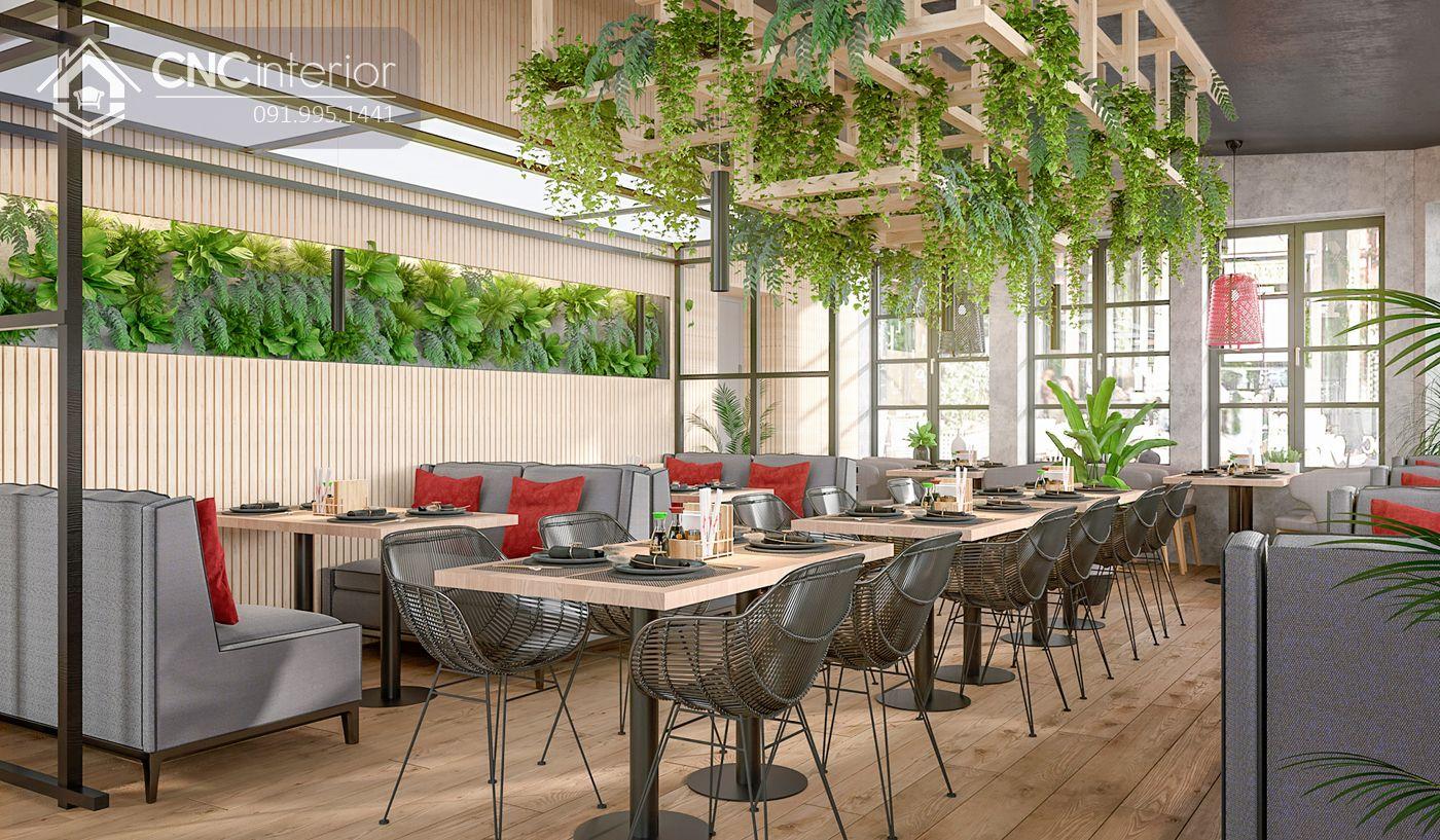 thiết kế restaurant theo loại hình phục vụ 12
