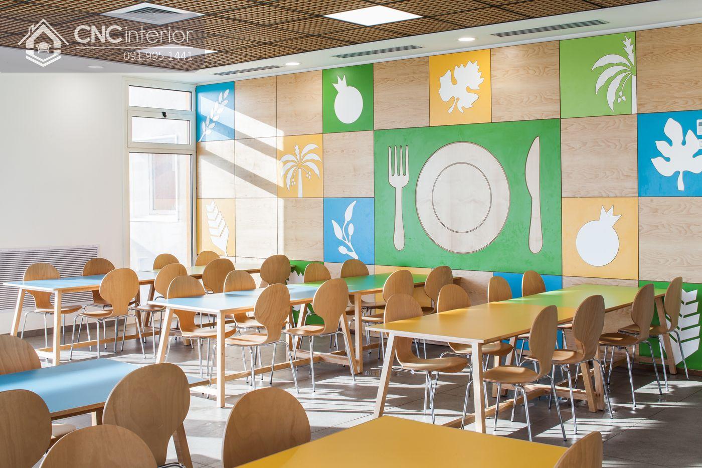 Khu vực phòng ăn kindergarten 15