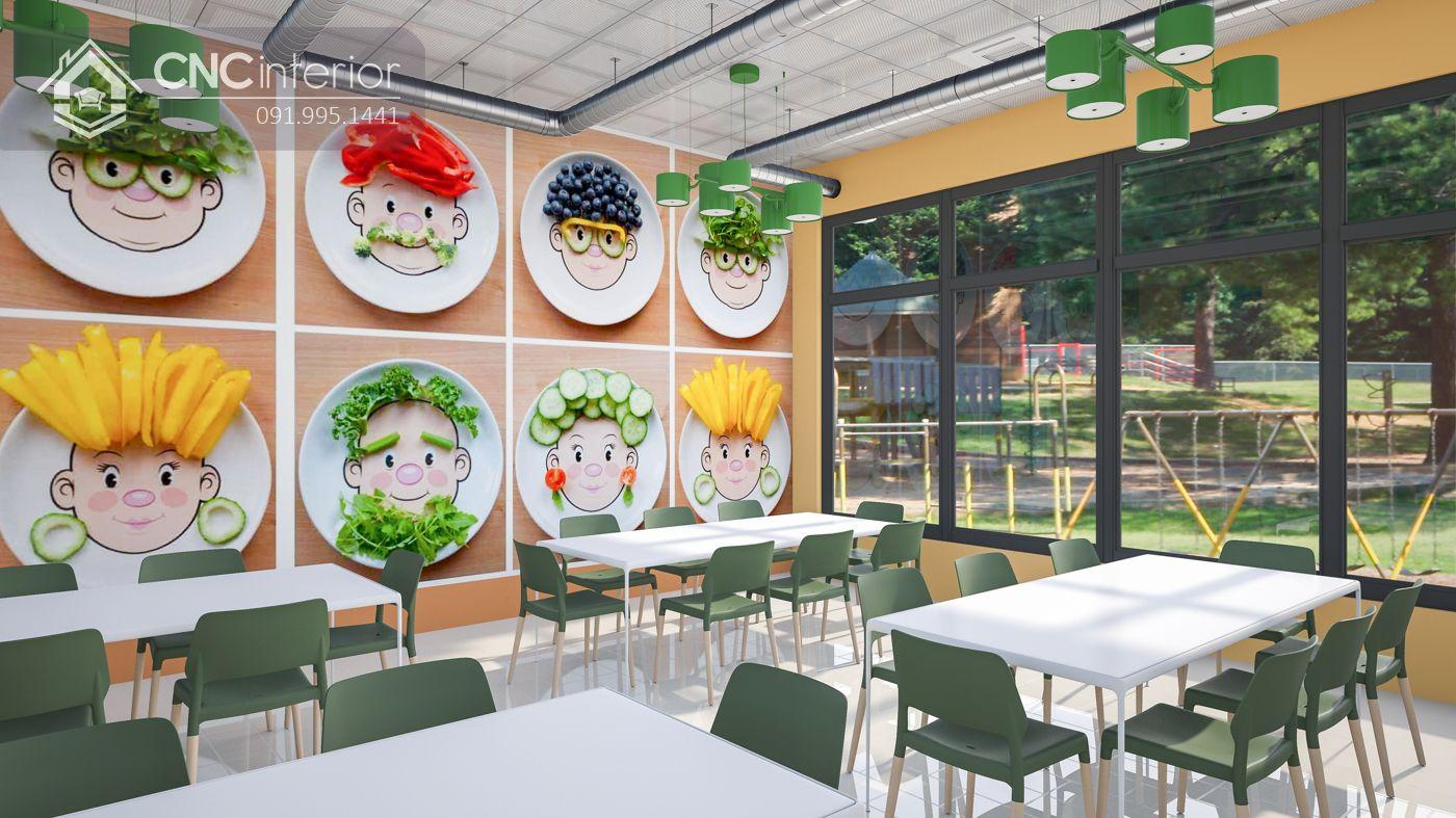Khu vực phòng ăn kindergarten 14