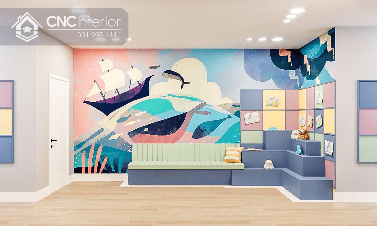 thiết kế nội thất trường mầm non 5