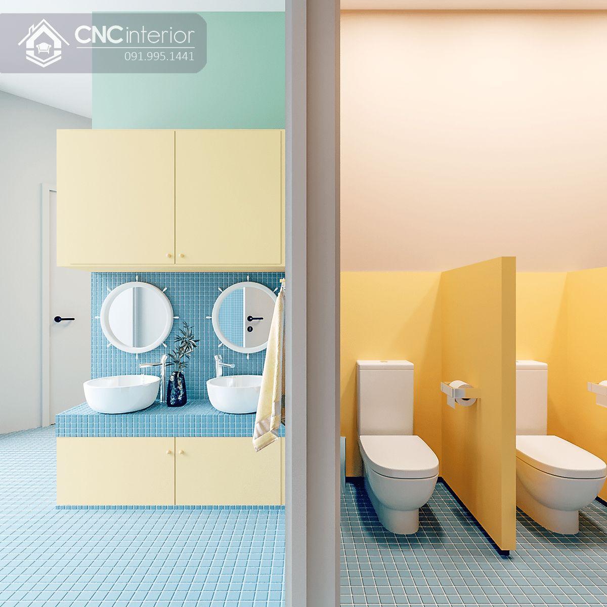 thiết kế nội thất trường mầm non 21