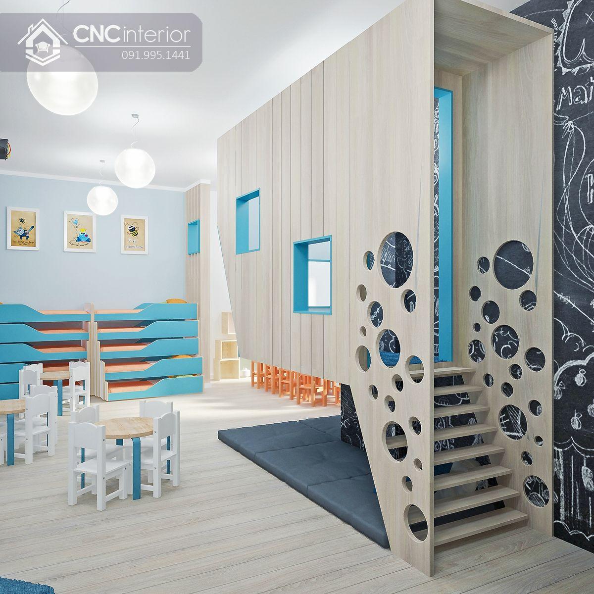 thiết kế nội thất trường mầm non 3