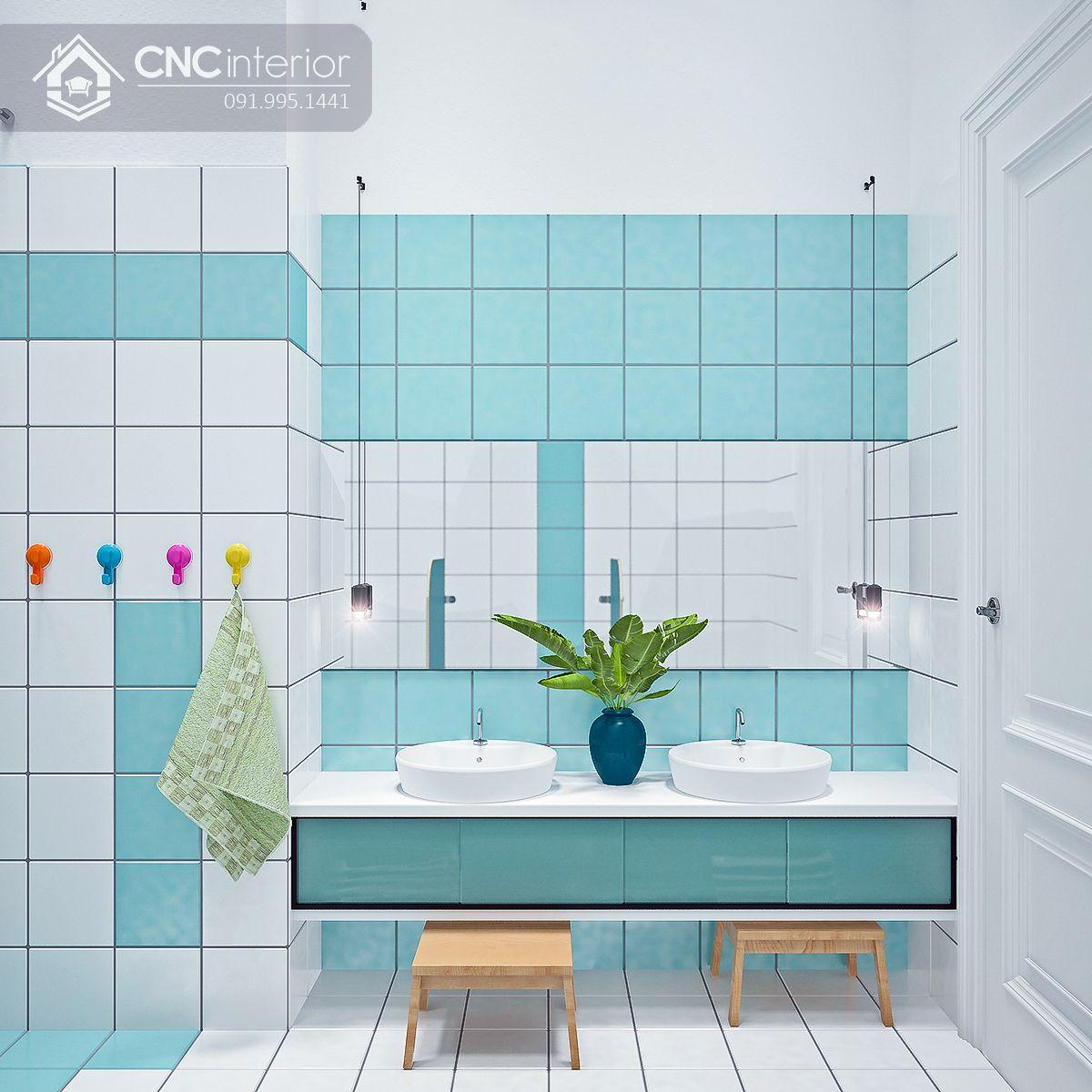 thiết kế nội thất trường mầm non 22